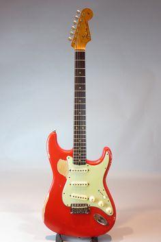 FENDER/USA[フェンダー/ユーエスエー] 1962 Stratocaster 詳細写真