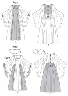 107 best renaissance sewing patterns images on pinterest missesgirls renaissance costumes solutioingenieria Choice Image