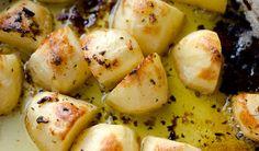 Greek Roasted Lemon Potatoes-- so simple, yet so good!