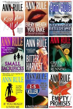RIP Ann Rule! Here are some of her must-read classics