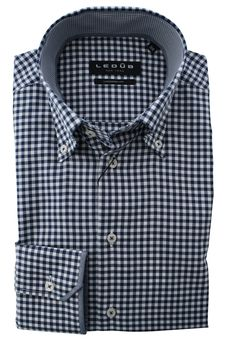 This is a beautiful blue checkered shirt of good quality. This fit is a modern fit. This shirt costs now € 44.95 on http://hemdenonline.nl/overhemden/overhemden-olymp-luxor-modern-fit-wit-0300-64-2764.html#
