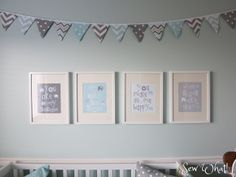 Detailed instructions for bunting.