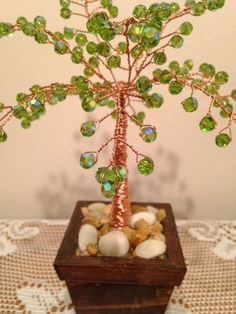 Gemstone Trees are a beautiful way to add a positive energy to any room!  #Crystals can be used for healing or environmental enhancement. Their subtle vibrations can affect ... #etsy #trending #crystals #gemstones