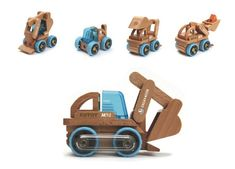 Transformobile Excavator - comes apart to make up all sorts of fun things!