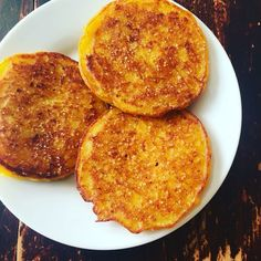 South African Pumpkin Fritters.