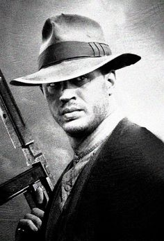 """Forrest Bondurant from """"Lawless"""" portrayed by awesome Tom Hardy ('The Dark Knight Rises', 'Inception'). Hard on the outside and soft on the inside. Got to love him."""
