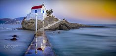 Agios  Isidoros - Sunset in Leros Island