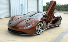 Gorgeous Hydrogen-Powered Scorpion Supercar