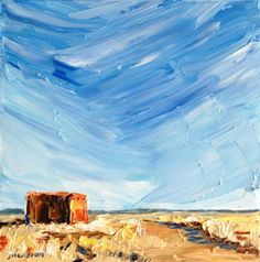 To Tubac and Back: Back Home and Painting    ... and here's the painting!