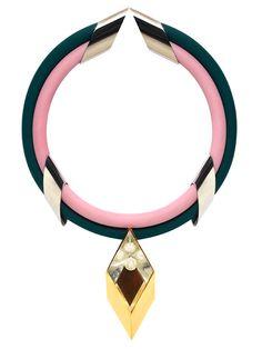 Delfina Delettrez necklace, $975, openingceremony.us.   - HarpersBAZAAR.com