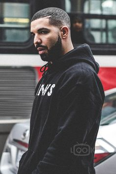 Drake wearing  Fan Merchandise Views From The 6 Hoodie