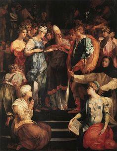 Restauré, Le Mariage de la Vierge de Rosso Fiorentino vient à Paris - Connaissancedesarts.com