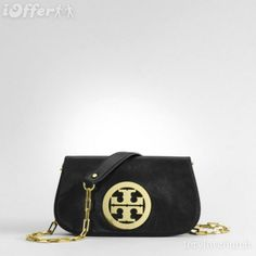 Tory Burch 'Amanda' Logo Clutch