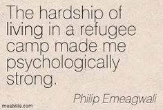 Image result for QUOTES AND sayings FROM  REFUGEES