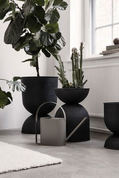 Decorative Indoor Flower Pots Luxury A Very fortable Ferm Living Spring Summer 2019 Indoor Flower Pots, Indoor Plants, Small Plants, Patio Plants, Interior Plants, Interior Design, Botanical Interior, Decoration Plante, Watering Can