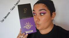 First Impressions of Furless Cosmetics' Purple Power Brush Set!