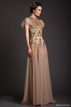 """Krikor Jabotian Spring 2014 Dresses — Akhtamar Couture Collection 