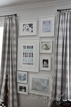 1000 ideas about gingham curtains on pinterest kitchen curtains curtains and valances. Black Bedroom Furniture Sets. Home Design Ideas