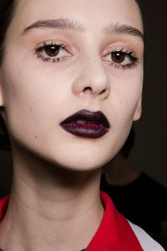 Christian Dior at Paris Fall 2016. http://adventuresfortwo.com/ #makeup #beauty #runway #backstage