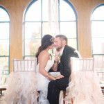 Oklahoma Wedding Inspiration: Bohemian Glamour  Chair Covers : Party Pro Rents  Location: Dresser Mansion   Perfect for you Boho Chic wedding, champagne wedding