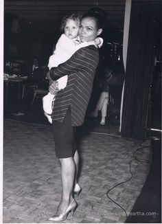 Simply Eartha Kitt....love these photos of her and her daughter.