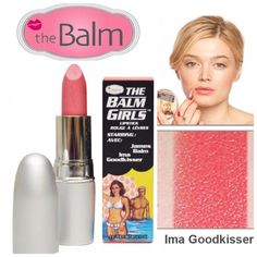 The Balm Lipstick - Ima Goodkisser The Balm Girls Lipstick in Ima Goodkisser is a soft creamy frosty slightly shimmery coral color (pairs up well with Nars Orgasm). Beautiful shade for summer....or anytime of year! BNIB. Never used or swatched. 100% Authentic Price Firm. No Trades, No PP. The Balm Makeup Lipstick