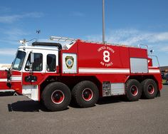 Air Force Military Fire Trucks | United States Air Force Fire Truck, Joint Base McGuire-Dix-Lakehurst ...