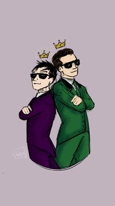 blog-s: Nygmobblepot Week Day 5 - Kings They own my life hdbsjsj