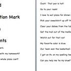 This file comes with commands, questions, statements, and exclamations that the students can sort.  Copy the headings and sentences onto cardstock,...