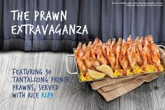 Ocean Basket Special - a night out Womens Month, Prawn, Basket, Ocean, Vegetables, Night, Food, Veggies, Essen