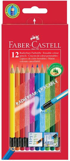 Faber-Castell 116612 laápiz de color - Lápiz de color (Madera, Multicolor): Amazon.es: Hogar