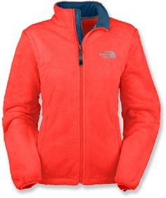 The North Face Osito Fleece Jacket (in Juicy Red)