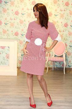 """Queríais la versión vestido de nuestra exitosa blusa """"Jerez""""? Aquí la tenéis!!!!! Saladísimo! Vestido  """"Jerez"""", tallas de la 38 a la 48. No lo dejes escapar. 39.99€. #visteconamelia #modamujer #vestidomujer"""