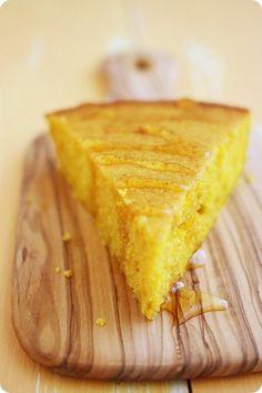 Pumpkin Honey Cornbread Recipe