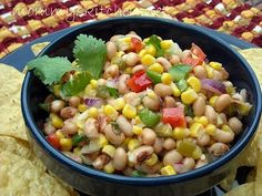 Mommy's Kitchen -  Texas Caviar Perfect for parties and cookouts.