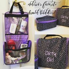 d994bae8be Thirty-One travel and makeup bags to make your life easier! Thirty One Bags