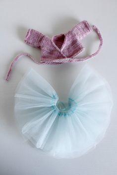 Little Cotton Rabbit Ballerina Outfit