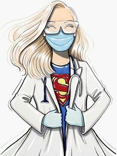 Illustration Art Drawing, Drawing Sketches, Illustrations, Art Drawings, Drawing Artist, Nurse Pics, Nurses Week Quotes, Medical Wallpaper, Nursing Wallpaper