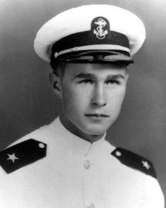 George H Bush -  served as the 41st President of the United States. Retired to Houston, Tx. His Presidential Library is on the campus of Texas A and M University, in College Station, TX.