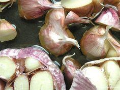 roasted garlic, 3 ways