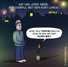 Kort lontje  - evert kwok- Good Mood, Haha, Cartoons, Funny Memes, Comics, Twitter, Movie Posters, Funny Things, Smile