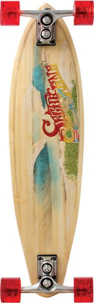 Sector 9 Bamboo Puerto Rico Swdr Comp-8.8x31.75/23.5wb - Hudson Skateboards Online Skateboard Shop