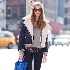 Best Winter Street Style 2013...anyone know where I can get this jacket?