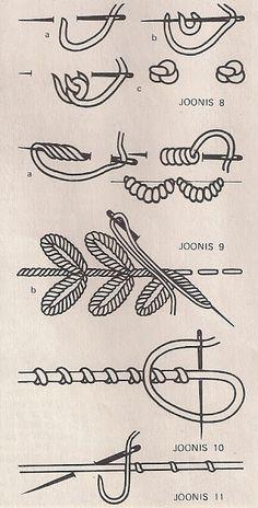 вышивка в технике рококо