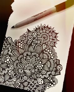 How To Make Time Pass At An Art Show All Day Zentangle Zenspire