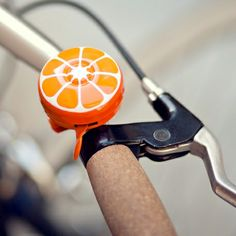 Tangy, citrusy bike bell.