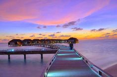 Enjoy the beauty of a colourful #sunset