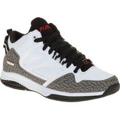 Fubu Men's Tiger Mid Athletic Shoe, Size: 8.5, White