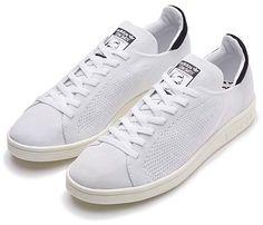 adidas Originals STAN SMITH PRIMEKNIT [WHITE / BLACK] (S77529)