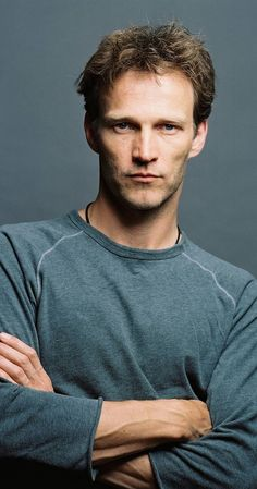 """Stephen Moyer, Actor: True Blood. Stephen Moyer's passion for acting began in local theatre in Brentwood & Chelmsford, Essex where he also made a name for himself with his own theatre company """"The Reject Society"""". He then trained at LAMDA and began his professional acting career on stage, including 2 years with the RSC (""""Romeo & Juliet"""", """"The Thebans"""", """"Columbus""""), touring in """"Romeo & Juliet"""" with the Oxford Stage in the title ..."""